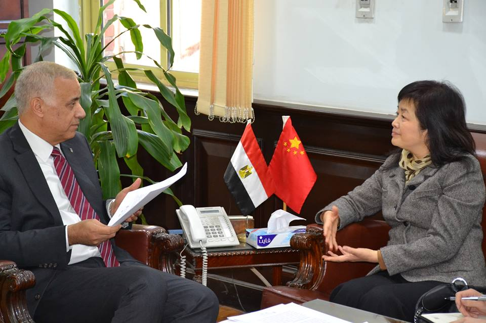The relationship between Shanghai University and Alexandria University