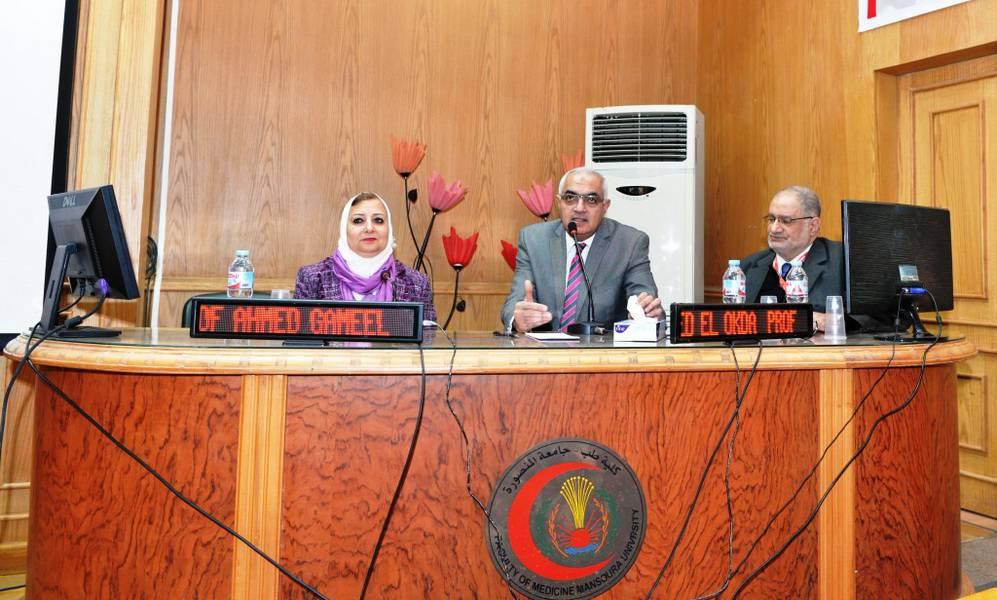 افتتاح المؤتمر السنوى لقسم الأنف والأذن والحنجرة بجامعة المنصورة