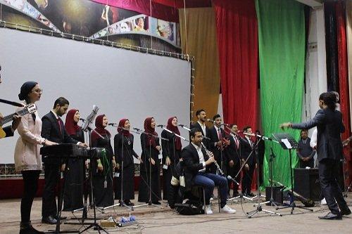 افتتاح فعاليات الملتقى الفني السابع عشر لشباب الجامعات بجنوب الوادي
