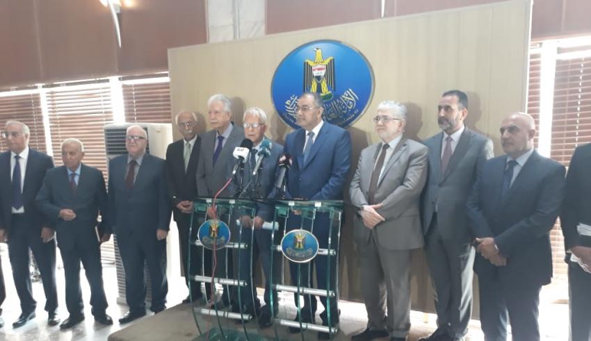 وزير التعليم العالي العراقي يترأس اجتماع اللجنة الفنية لرعاية العلماء